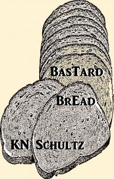 Ebook cover: Bastard Bread