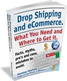 Ebook cover: Drop Shipping and eCommerce
