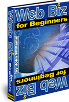 Ebook cover: Web Biz for Beginners
