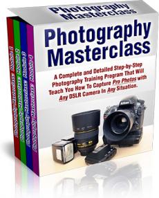 Ebook cover: Photography Masterclass