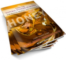 Ebook cover: Using the Natural Wonder of Honey