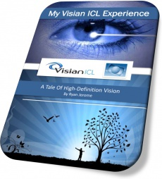 Ebook cover: My Visian ICL Experience: A Tale Of High Definition Vision