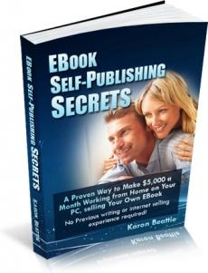 Ebook cover: EBook Self-Publishing Secrets