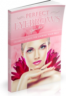 Ebook cover: Perfect Eyebrows Guide