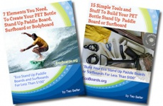 Ebook cover: Build Your SUP Board or Surfboard