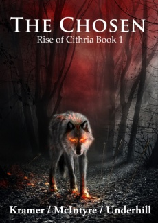 Ebook cover: The Chosen - Rise of Cithria Part 1
