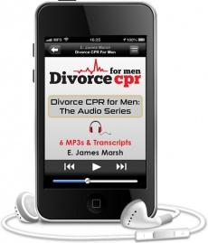 Ebook cover: Divorce CPR for Men