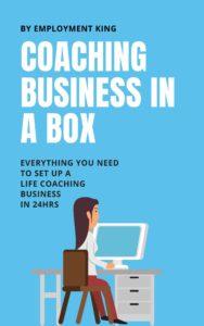 Ebook cover: Coaching Business in a Box