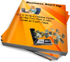 Ebook cover: Business Start Up