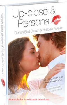 Ebook cover: Banish Bad Breath & Halitosis Forever