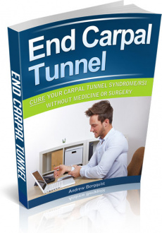 Ebook cover: End Carpal Tunnel