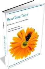 Ebook cover: BE A GREAT TUTOR
