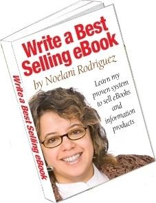 Ebook cover: Write A Best-Selling eBook