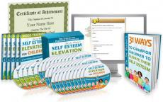 Ebook cover: Self-Esteem Elevation for Children
