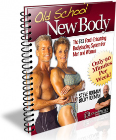 Ebook cover: Old School New Body's 10 Ultimate Body Transformation Secrets