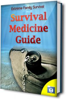 Ebook cover: The Survival Medicine Guide