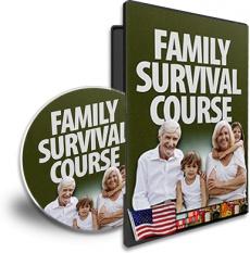 Ebook cover: The Family Survival Course
