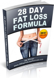 Ebook cover: 28 Day Fat Loss Formula