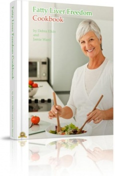 Ebook cover: The Fatty Liver Freedom Cookbook