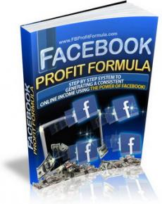 Ebook cover: Facebook Profit Formula