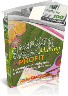 Ebook cover: Greeting Card Making for Profit