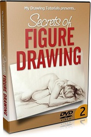 Ebook cover: Secrets Of Figure Drawing