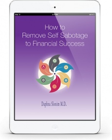 Ebook cover: How to Remove Self Sabotage to Financial Success