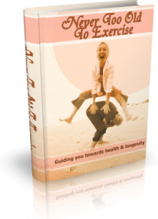 Ebook cover: Never Too Old To Exercise