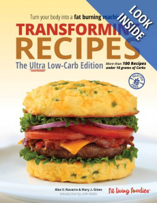 Ebook cover: Transforming Recipes, Ultra Low-Carb Edition