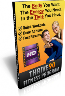 Ebook cover: Thrive90 Fitness