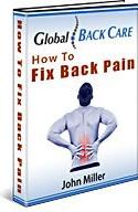 Ebook cover: Fix Back Pain