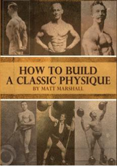 Ebook cover: How To Build A Classic Physique