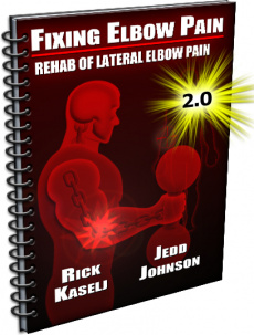 Ebook cover: The Fixing Elbow Pain System
