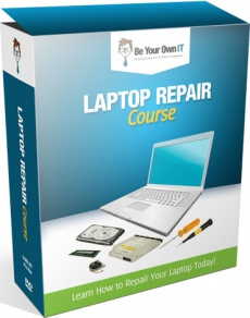 Ebook cover: Laptop Repair Video Course