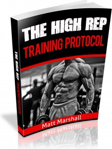 Ebook cover: The High Rep Training Protocol