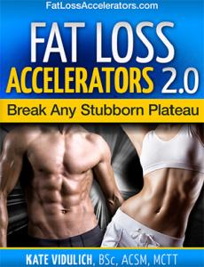 Ebook cover: Fat Loss Accelerators 2.0