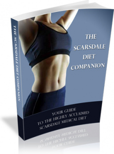 Ebook cover: The Scarsdale Diet Companion