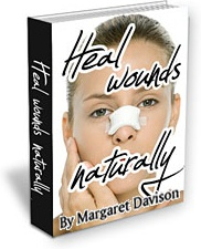 Ebook cover: How To Heal Wounds Naturally