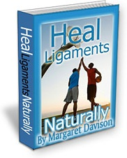 Ebook cover: Your Guide to Healing Ligaments Naturally