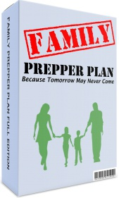 Ebook cover: Family Prepper Plan
