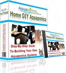 Ebook cover: Home DIY Aquaponics