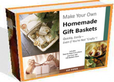 Ebook cover: Make Your Own Homemade Gift Baskets