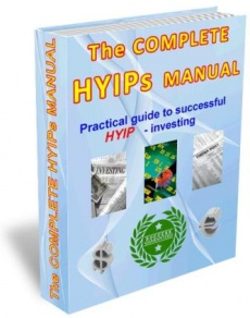Ebook cover: The Complete HYIPs Manual