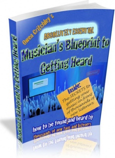 Ebook cover: Musician's Blueprint to Getting Heard