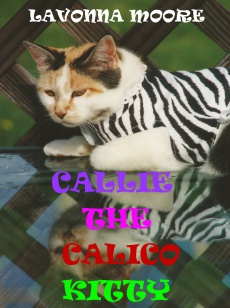 Ebook cover: CALLIE THE CALICO KITTY