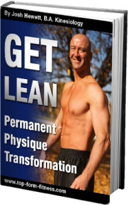 Ebook cover: Get Lean - Permanent Physique Transformation