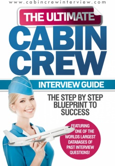 Ebook cover: The Ultimate Cabin Crew Interview Guide