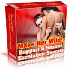 Ebook cover: Rapport and Sexual Escalation Secrets