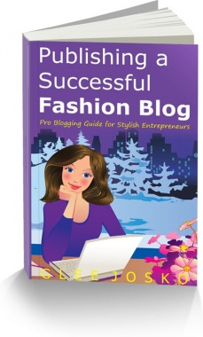 Ebook cover: Publishing a Successful Fashion Blog