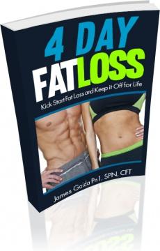 Ebook cover: 4 Day Fat Loss